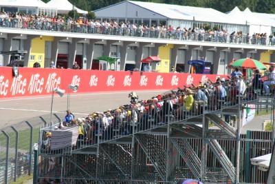 Programm zur MotoGP 2012 auf dem Sachsenring