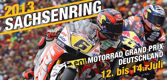 SRM lädt zum Presse-Gespräch - Sachsenring 2013
