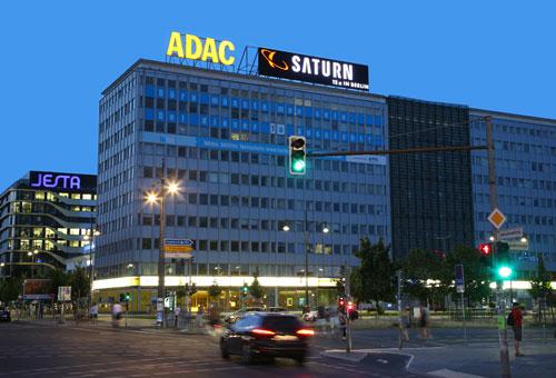 ADAC Geschäftsstelle in Berlin am Fuße des Berliner Fernsehturms